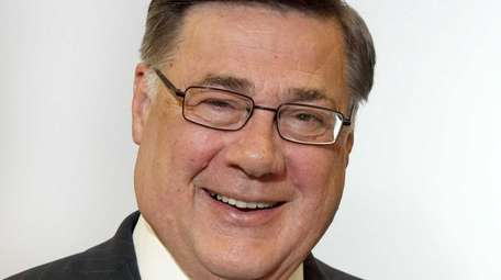 Brookhaven Town Supervisor Edward Romaine who's the GOP