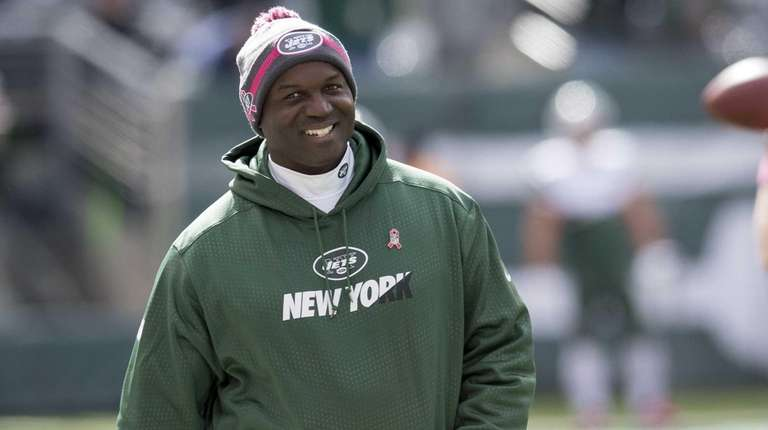 New York Jets head coach Todd Bowles watches