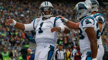 Quarterback Cam Newton #1 of the Carolina Panthers