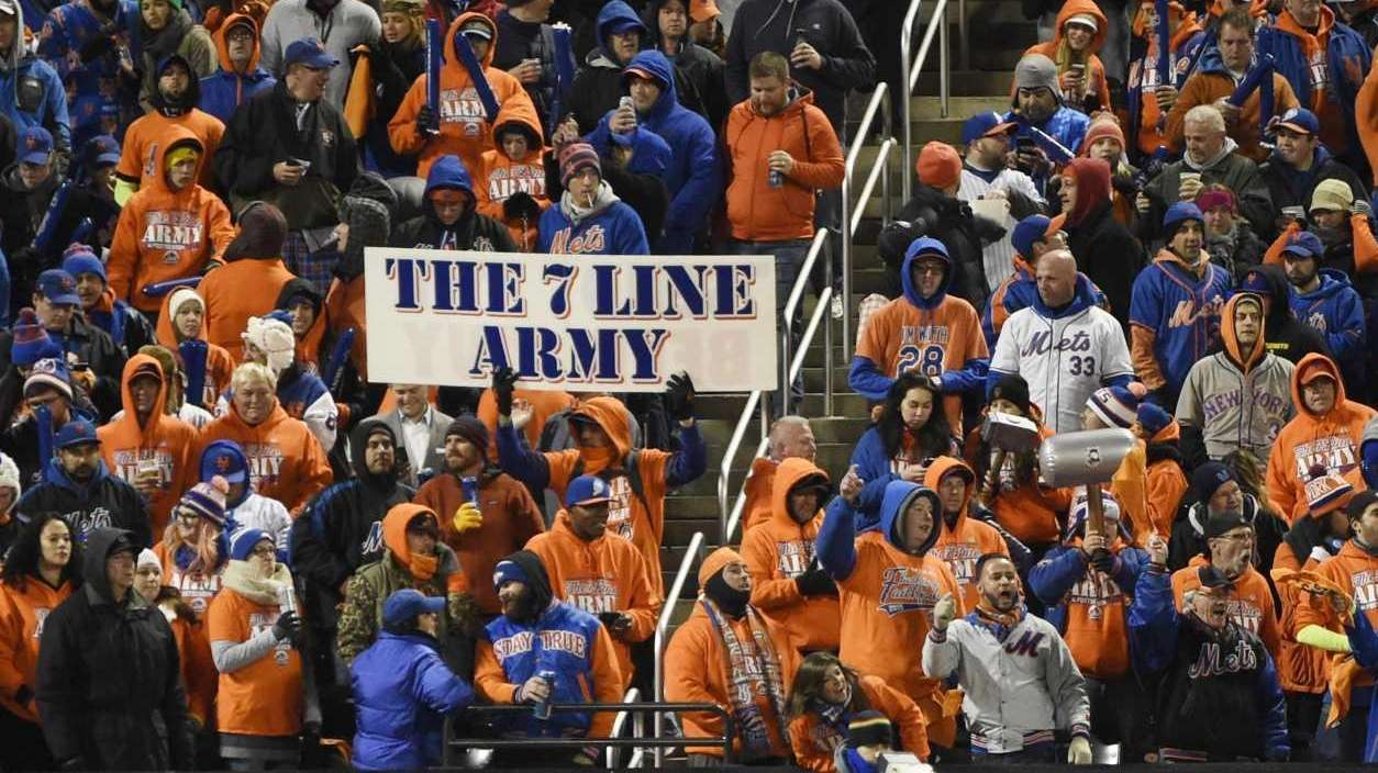 The 7 Line Army appears in the centerfield