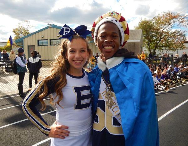 Baldwin High School's 2015 Homecoming Queen Paris Acquaro