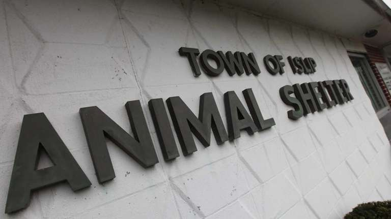 The Town of Islip Animal Shelter is pictured