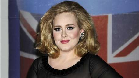 Adele appears to have teased British TV viewers