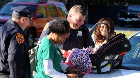 Suffolk County police said a baby girl, identified