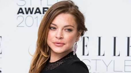 Lindsay Lohan made a series of posts to