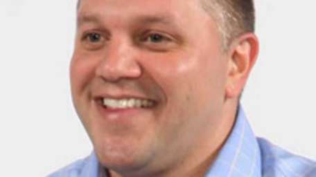Kevin Geist of Greenlawn has been hired as
