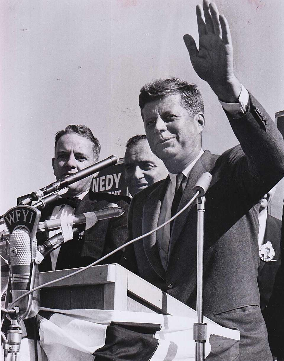 On Oct. 12, 1960, Sen. John F. Kennedy