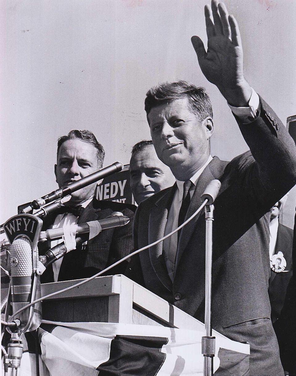 On Oct. 12, 1960, Sen. John F. Kennedy