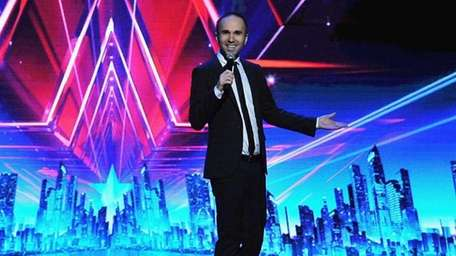 Comedian Taylor Williamson performs during opening night of