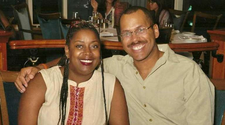 Jeanine and Kenneth Cox of Central Islip celebrated