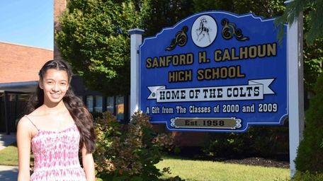 Samantha Hernandez, 16, a junior at Sanford H.