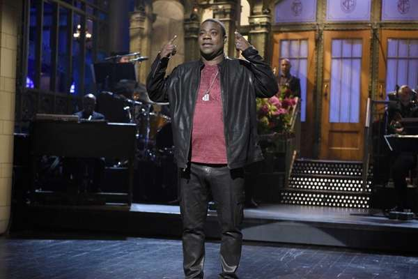 Tracy Morgan, fresh off his