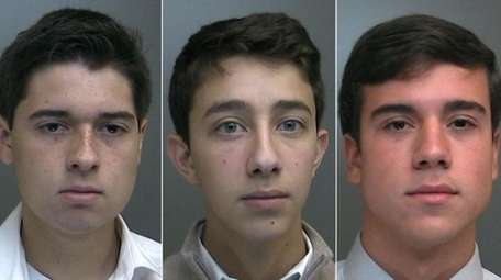 Three youths, all age 17, are charged with