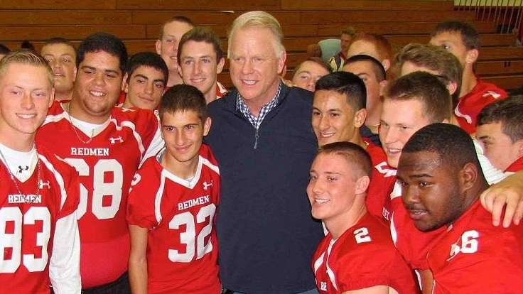 Former NFL quarterback and current sports broadcaster Norman