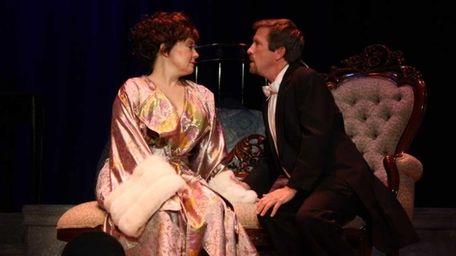 Melanie Lipton as Desiree and Ken Young as