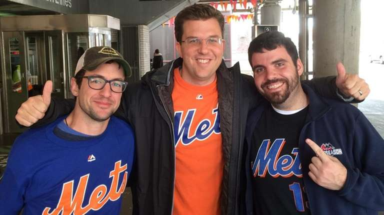 Raymond Smyth, Ed Reilly and Conor Reilly, Mets
