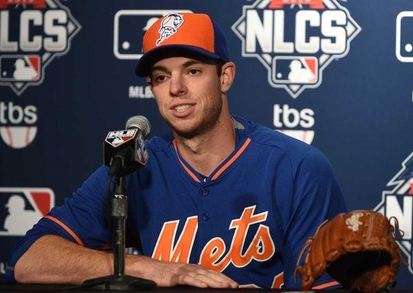 New York Mets starting pitcher Steven Matz speaks
