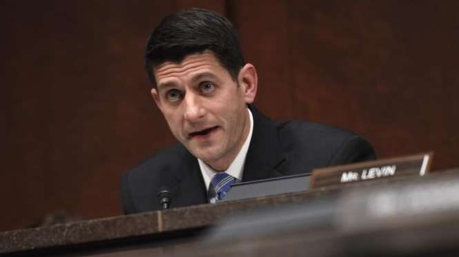Rep. Paul Ryan, R-Wis. speaks on Capitol Hill