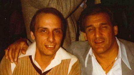 An undated photo shows cousins Gaspare Valenti, left,