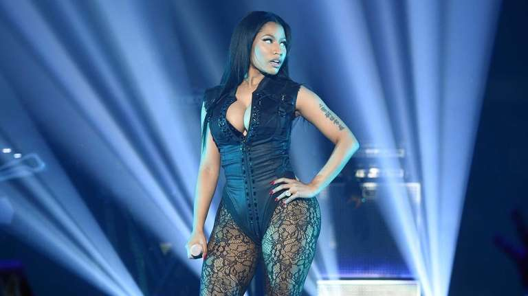 Rapper Nicki Minaj performs onstage during the