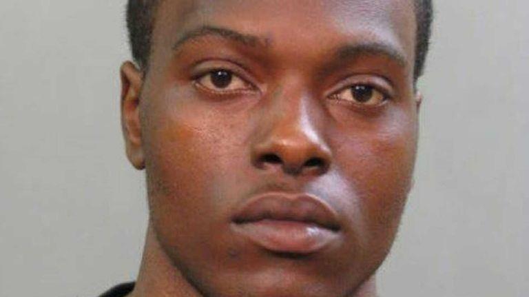 Nervon Gayles, 21, of Amityville, was arraigned Tuesday,
