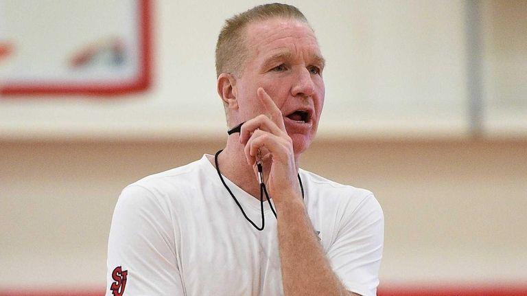 St. John's men's basketball head coach Chris Mullin