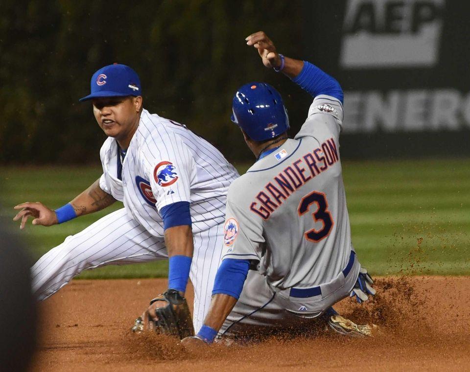 New York Mets right fielder Curtis Granderson (3)