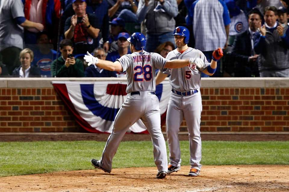 CHICAGO, IL - OCTOBER 21: Daniel Murphy #28