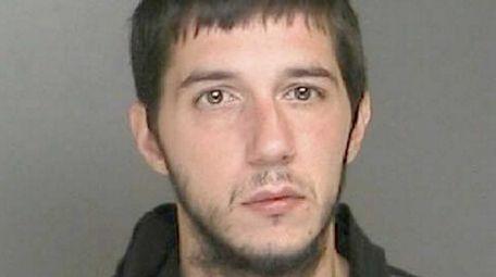 Sean Patti, 30, of Selden, who police said