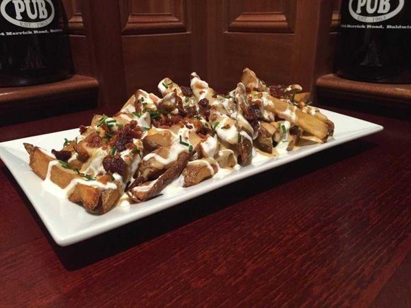 Irish pub nachos made with fresh-cut