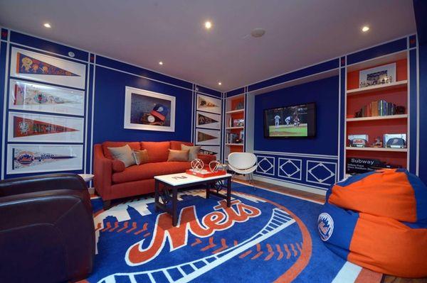 Matthew Patrick Smyth's Mets Room at the Ronald