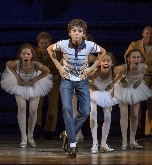 "Elliott Hanna and Ruthie Henshall in ""Billy Elliot"