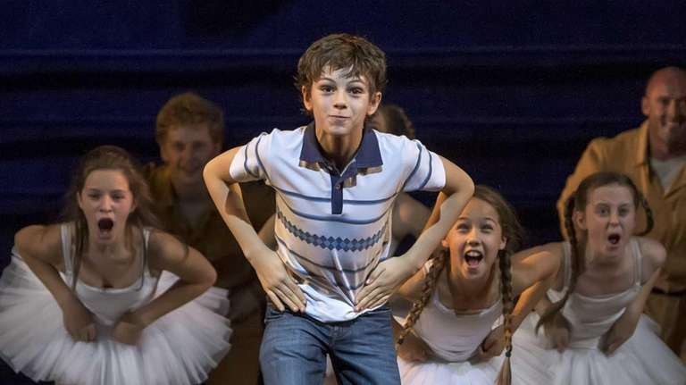 "Elliott Hanna and Ruthie Henshall in ""Billy Elliot"