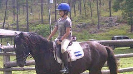 Honduran native Adrian Ehrler is shown riding a