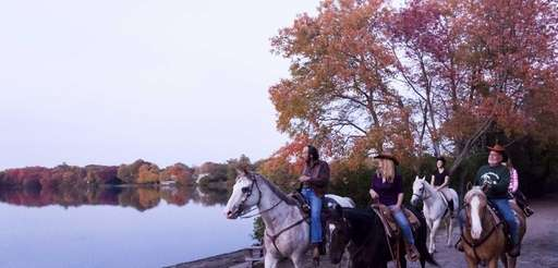 The Babylon Riding Center offers one-hour horseback rides