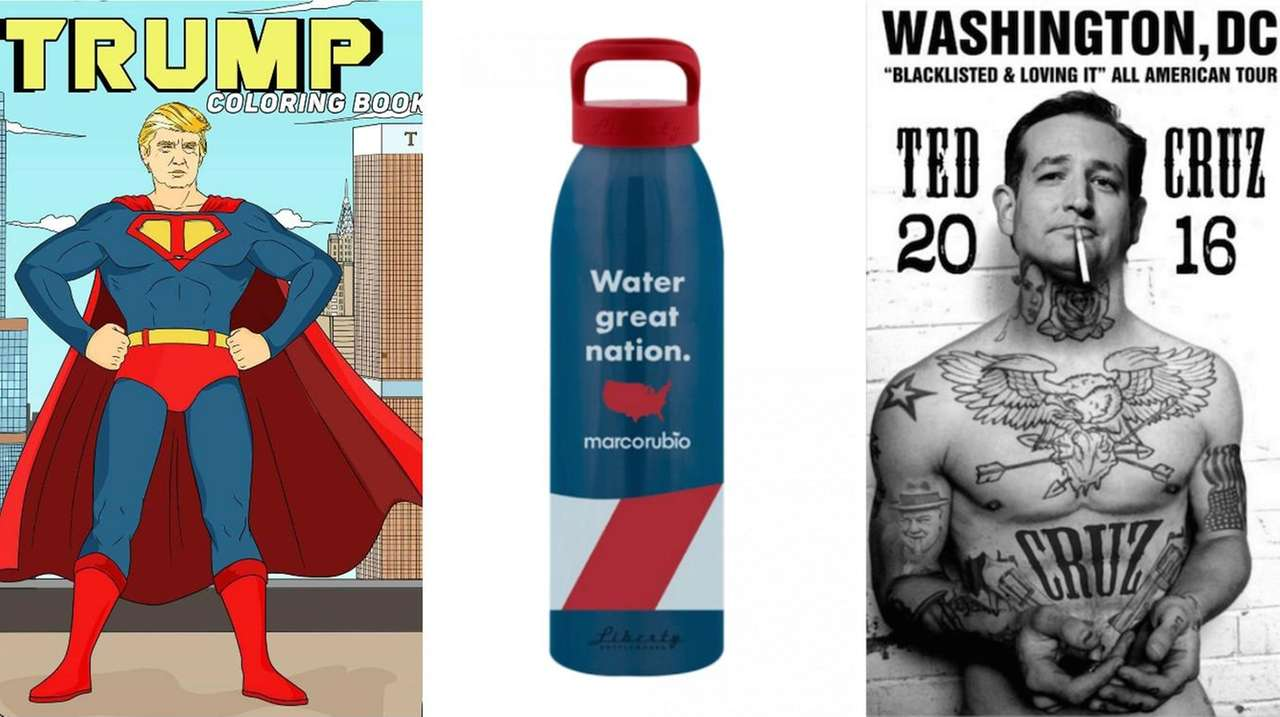 Gift these bizarre, hilarious political presents.