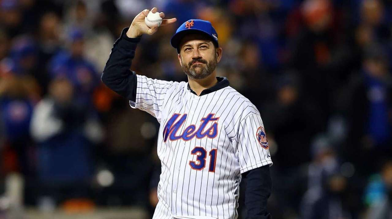 Jimmy Kimmel will host the Mets as guests