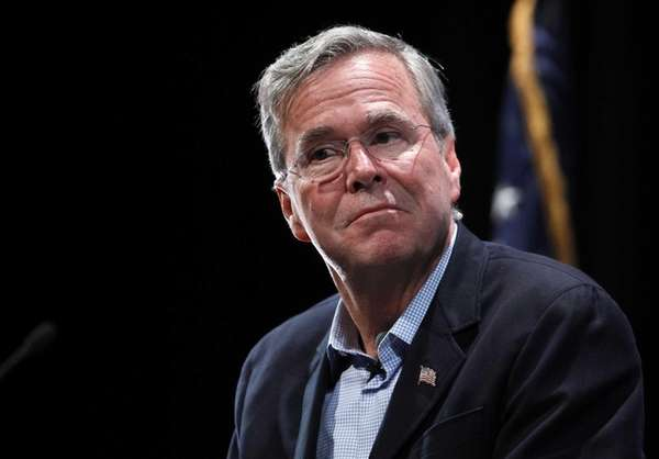 Republican presidential candidate Jeb Bush is pictured Oct.