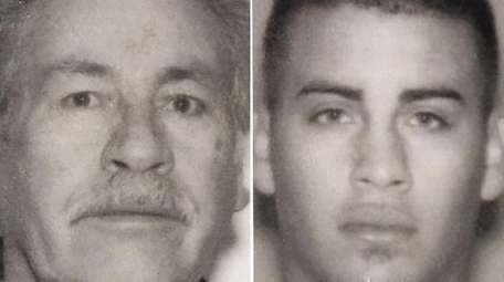 (L-R) Victor M. Bonilla, 66, and Jessie Brandon