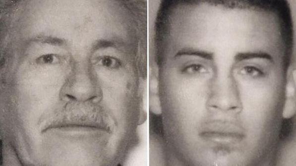 (L-R) Victor M. Bonilla, 66, and Jessie Brandon