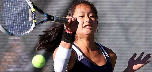 Manhasset's Amanda Foo defeats Cold Spring Harbor's Merri
