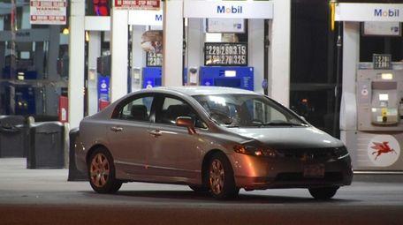 A woman walking in Hicksville was struck by