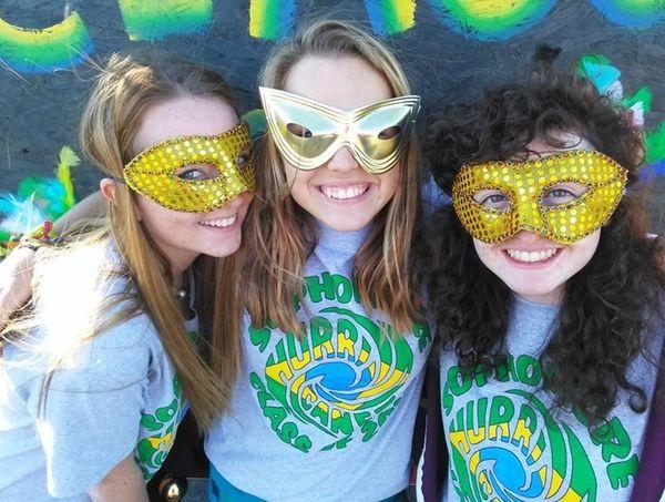 Westhampton Beach High School sophomores Christina Santucci, 15,