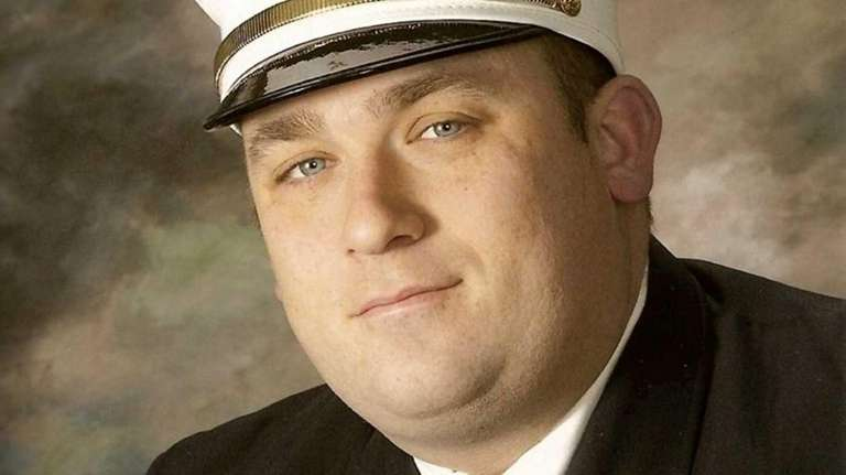 Former Sayville Fire Department Chief Larry Sesso, 40,