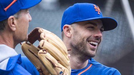 New York Mets third baseman David Wright talks