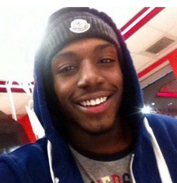 Andre Smith, a 17-old senior at Bogan High