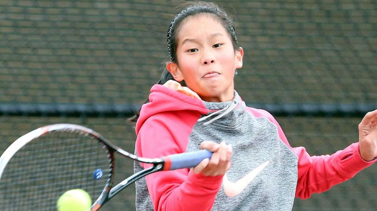 Newsday's All-Long Island girls tennis team