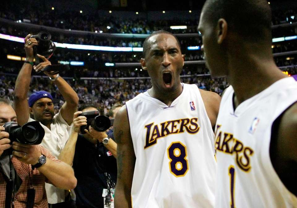 Arguably the most famous buzzer-beater of Kobe Bryant's