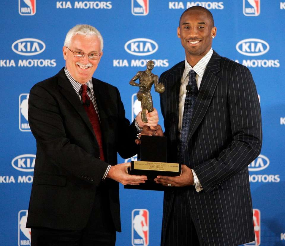 Kobe Bryant was voted Most Valuable Player of