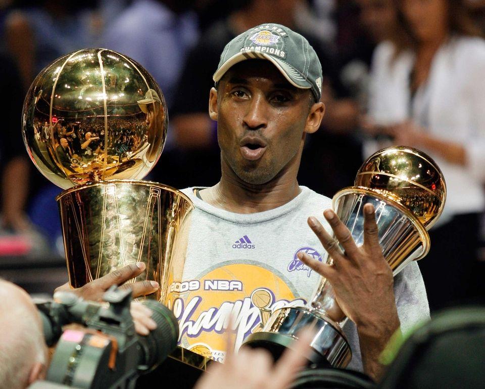 Kobe Bryant won his fourth championship ring and